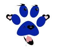 Lieben Sie Ihr Hundeikonen-Zeichen Lizenzfreie Stockbilder