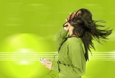 Lieben Sie Ihre Musik Lizenzfreies Stockfoto