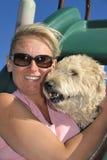 Lieben Sie meinen Hund Lizenzfreies Stockbild