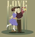 Lieben Sie Paare Stockbild