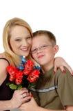 Lieben Sie Sie Mamma lizenzfreies stockfoto