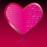Lieben Sie Sie Valentinsgruß-Tag Stockfoto