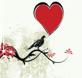Lieben Sie Vogel Lizenzfreie Stockbilder