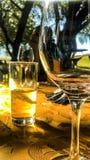 Liebendes Glas stockbilder