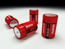 Liebes-Batterie Stockbild