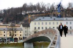 Liebes-Brücke Stockbilder