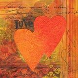 Liebes-Collage Lizenzfreie Stockbilder