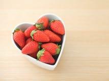 Liebes-Erdbeeren Stockbilder