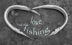 Liebes-Fischen Stockfotos
