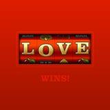 Liebes-Gewinne! vektor abbildung