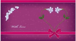 Liebes-Gruß-Karte Stockfotos