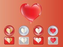 Liebes-Herz Lizenzfreie Stockbilder