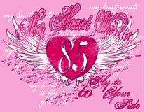 Liebes-Hintergrund Stockbild
