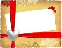 Liebes-Karte Stockbild