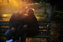 Liebes-Paare Lizenzfreie Stockfotos