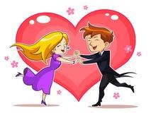 Liebes-Paare Stockbild