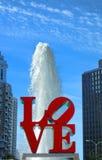 Liebes-Park an JFK-Piazza Philadelphia Pennsylvania Lizenzfreie Stockfotos