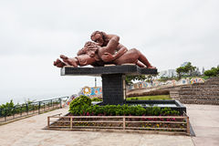 Liebes-Park, Lima Lizenzfreie Stockfotografie