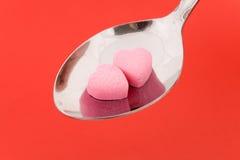 Liebes-Pille Stockfoto