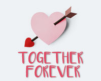 Liebes-sehnsüchtige Neigung Cherish Tenderness Concept Lizenzfreies Stockfoto