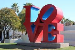 Liebes-Skulptur, alte Stadt Scottsdale, Arizona Stockfotos
