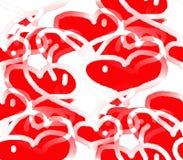 Liebes- und Herzfeiertag Lizenzfreie Stockfotos