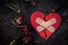 Liebes- und Valentinsgrußtageskonzept Stockfoto
