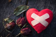 Liebes- und Valentinsgrußtageskonzept Lizenzfreie Stockfotografie