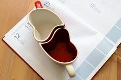 Liebes-Unternehmensplan Stockfotografie