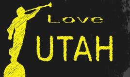 Liebes-Utah-Tafel vektor abbildung