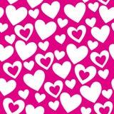 Liebesauslegungmuster stock abbildung