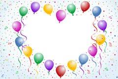 Liebesballone Lizenzfreie Stockbilder