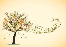 Liebesbaumregenbogen Stockbild
