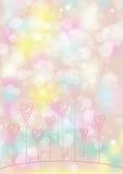Liebesblumenhintergrund Lizenzfreies Stockfoto