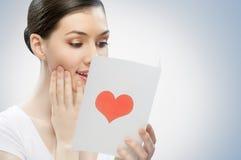 Liebesbrief Stockbilder