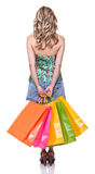 Liebeseinkaufen Lizenzfreie Stockfotos