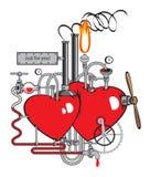 Liebesfabrik Stock Abbildung