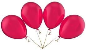 Liebesfeierballone Stockfotografie