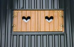 Liebesfenster stockbilder
