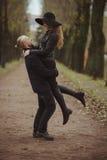 Liebesgeschichte geschossen von einem Paar Lizenzfreies Stockfoto