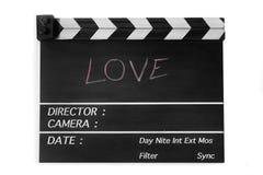 Liebesgeschichtefilmschiefer Stockbilder