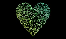 Liebesgesundheit stock abbildung