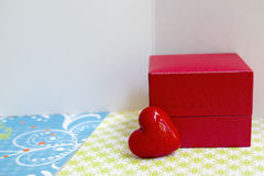 Liebesgrußkarten Stockfoto