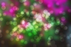 Liebesherzform schöner bokeh Hintergrund Lizenzfreies Stockfoto