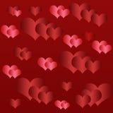 Liebeshintergrund stock abbildung