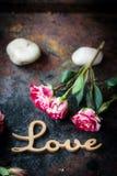 Liebeshintergrund für Valentinstagfeier Lizenzfreie Stockfotografie