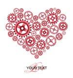 Liebeshintergrundkarte Lizenzfreie Stockbilder