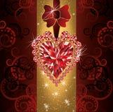 Liebeshochzeits-Einladungskarte Lizenzfreies Stockbild