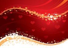 Liebesinnerhintergrund vektor abbildung