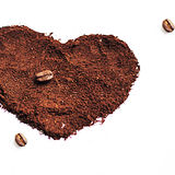 Liebeskaffee Stockfotos
